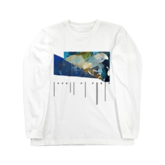 【コラボ】fossil of angle(typography) Long sleeve T-shirts