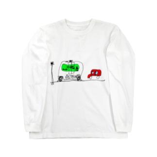 EZ10が実用化されて街を走っているところ Long sleeve T-shirts