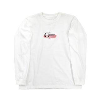 ピンクロゴ Long Sleeve T-Shirt