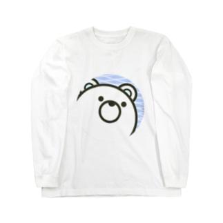 しろくま丸 Long sleeve T-shirts