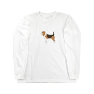 ビーグル Long Sleeve T-Shirt