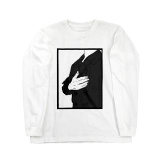 胸が苦しくなった Long sleeve T-shirts