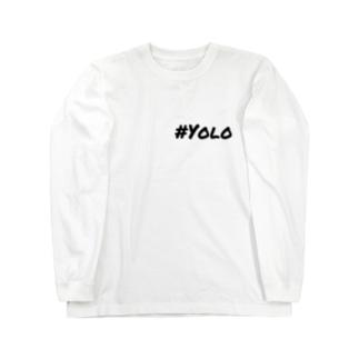 #Yolo Long sleeve T-shirts