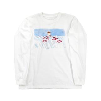 おはなの中 Long sleeve T-shirts