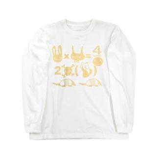 ニュニュ方程式 Long sleeve T-shirts