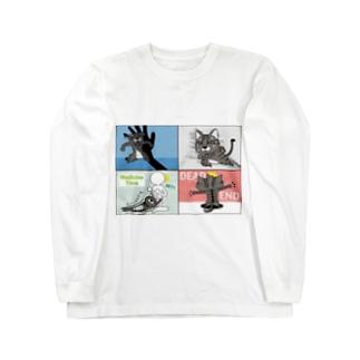4コマまんが/サスペンス劇場 Long Sleeve T-Shirt