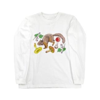秋の実り Long Sleeve T-Shirt