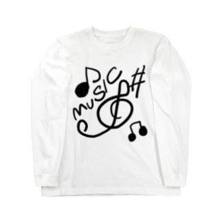 ミュージック Long Sleeve T-Shirt