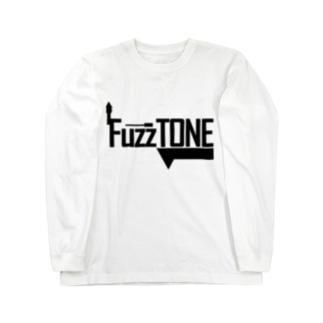 FuzzTONE -black- Long sleeve T-shirts