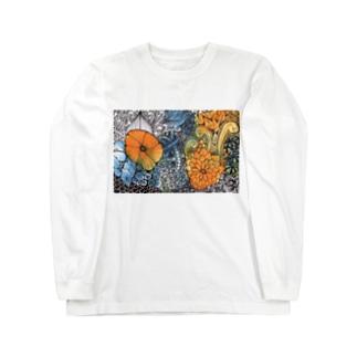 植物園 botanical garden Long sleeve T-shirts