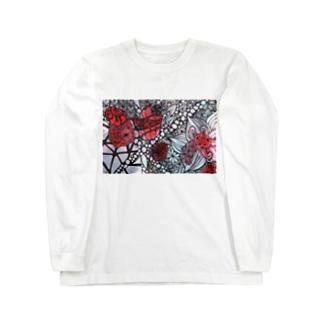 鉱山 the mine Long sleeve T-shirts