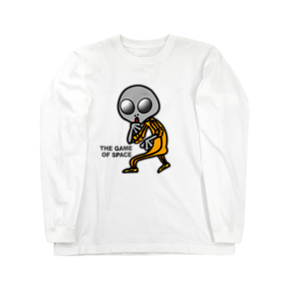 オリジナルデザインTシャツ SMOKIN'の宇宙遊戯 ポスターバージョン Long sleeve T-shirts