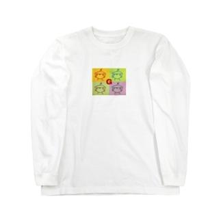 スマイルG Long sleeve T-shirts