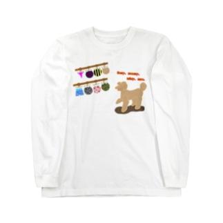 おパンツ選び Long sleeve T-shirts