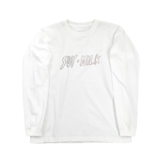 豆乳 Long sleeve T-shirts