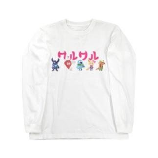 ワルワル団 Long sleeve T-shirts