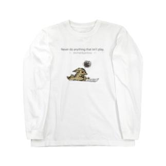 イライラジャッカルくん Long sleeve T-shirts