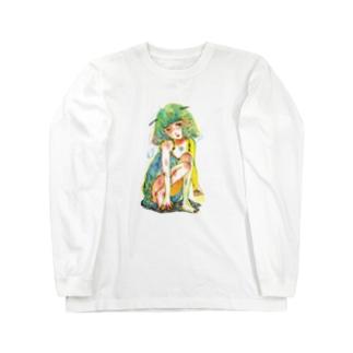 危うい天使ちゃん Long sleeve T-shirts