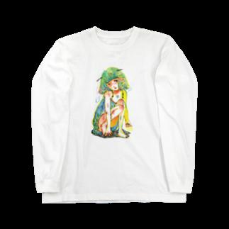 福井伸実の危うい天使ちゃん Long sleeve T-shirts