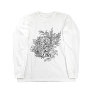 PygmyCat(黒線ver) Long sleeve T-shirts