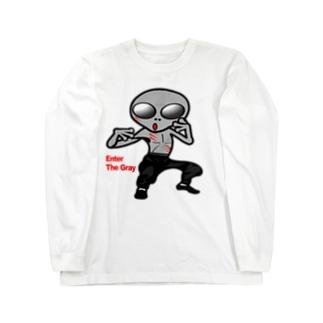 燃えよ宇宙人 Long sleeve T-shirts