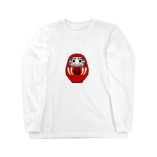 GREAT 7のだるま Long sleeve T-shirts