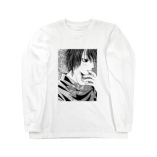 モノオモウ。。。 Long sleeve T-shirts