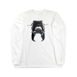スマトラオオヒラタグッズ Long sleeve T-shirts