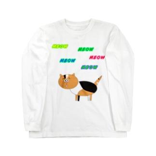 MEOW Long sleeve T-shirts