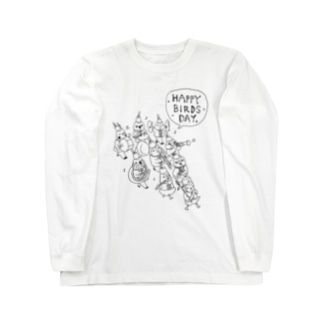 HAPPY BIRDS DAY Long sleeve T-shirts