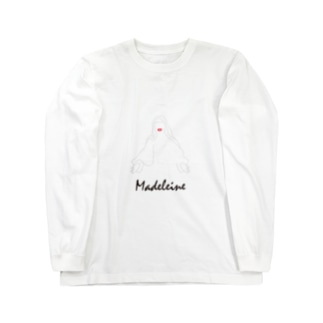 【限定】『マドレーヌ』 それはマグダラのマリアにオマージュを捧げる移動劇場 Long sleeve T-shirts