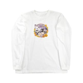 カメもハロウィン♪ Long sleeve T-shirts
