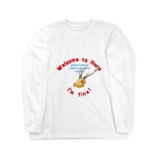 鹿骸骨 Long sleeve T-shirts