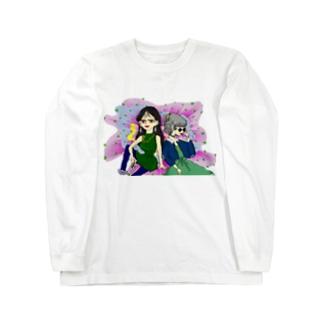 80's GIRLS Long sleeve T-shirts