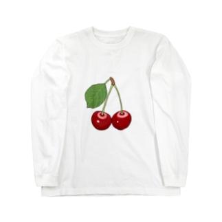 GREAT 7のサクランボ Long sleeve T-shirts
