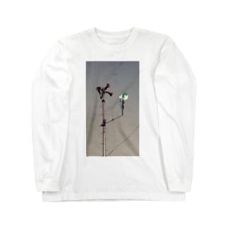 本日モ 異常ナシ Long sleeve T-shirts