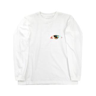 彩リ心ノ眼 Long sleeve T-shirts
