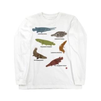 SILHOUETTE AQUARIUM 02 Long sleeve T-shirts
