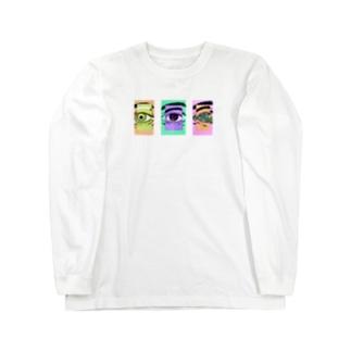 EYES Long sleeve T-shirts