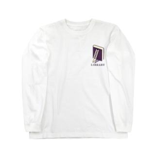 本のライブラリー Long sleeve T-shirts
