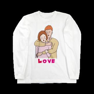 イラスト解剖学教室の大胸筋LOVE Long sleeve T-shirts