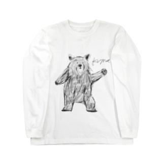 くま Long sleeve T-shirts