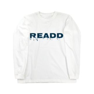 ReaDD Tシャツ ロゴ別ver Long sleeve T-shirts