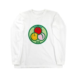 パ紋No.3115 うらの Long sleeve T-shirts