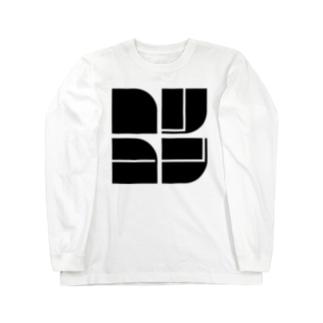 ロリコン(黒文字) Long sleeve T-shirts