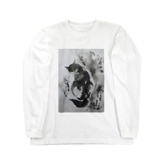怪しい猫2017 Long sleeve T-shirts