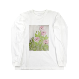 アツミゲシ Long sleeve T-shirts