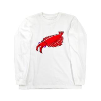 アノマロさん Long sleeve T-shirts