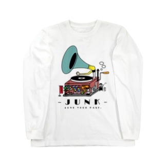 JUNK -LOVE YOUR PAST- Long sleeve T-shirts