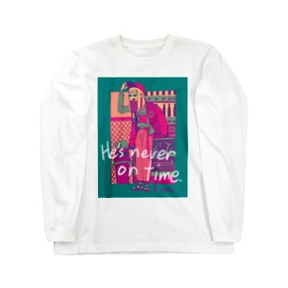 Girl was tired of waiting3 Long sleeve T-shirts